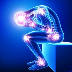 Entzündungen im Körper Mann Beschwerde MSM