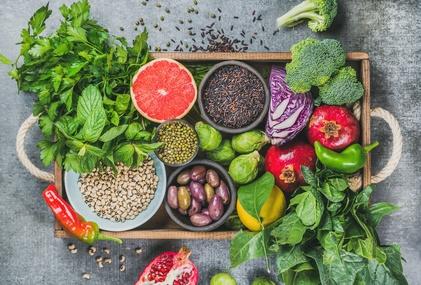 Nahrungsmittel Vitamine Gemüse Obst