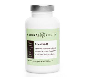 Blasenentzündung D-Mannose von Natural Purity