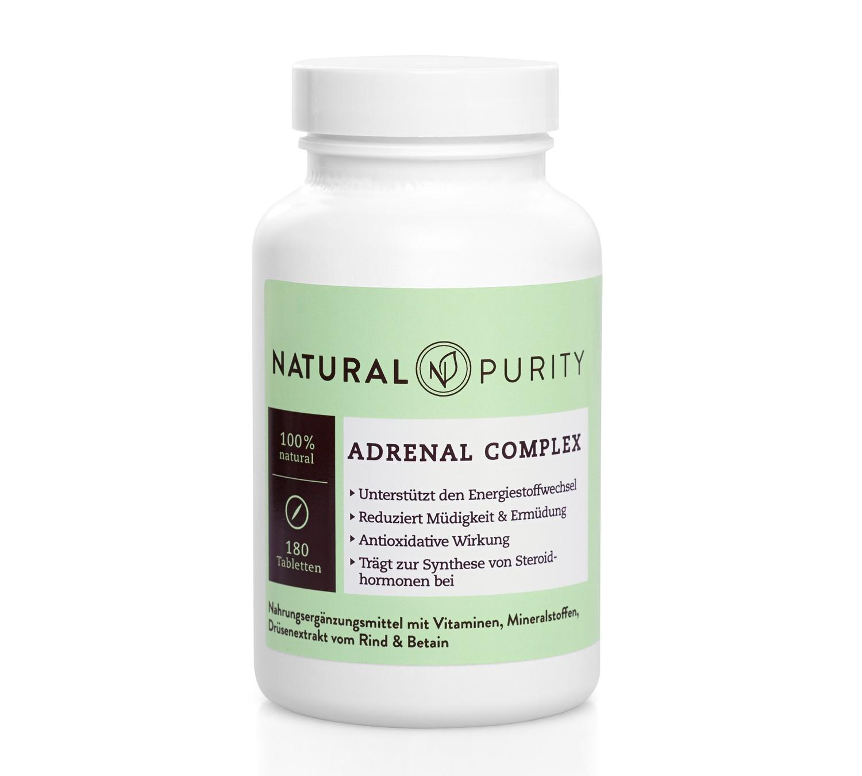 Adrenal-Complex, Nebennierenkonzentrat, Nahrungsergägzungsmittel