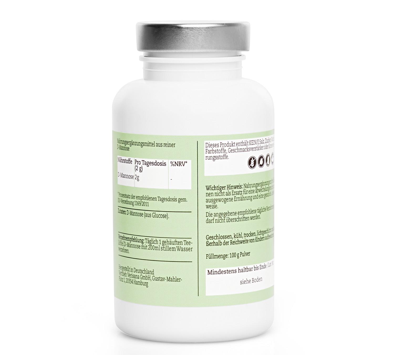 D-Mannose Pulver zur Entgiftung der Blase