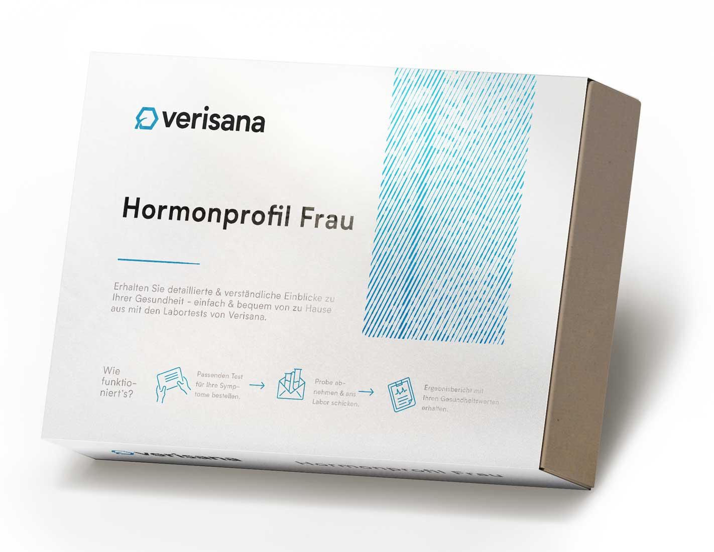 Hormonprofil Frau, Speicheltest auf fünf Hormone