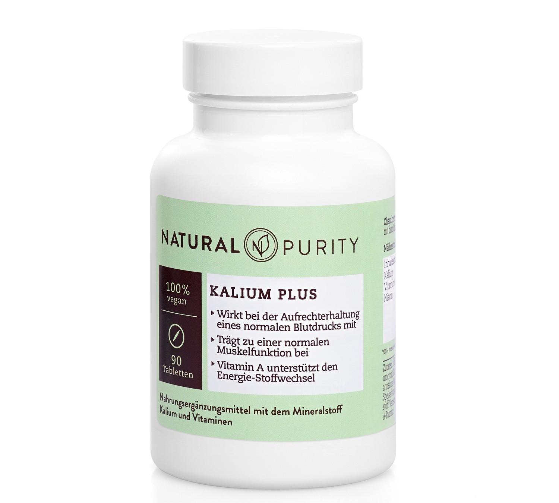 Kalium Plus, Nahrungsergänzungsmittel mit Niacin