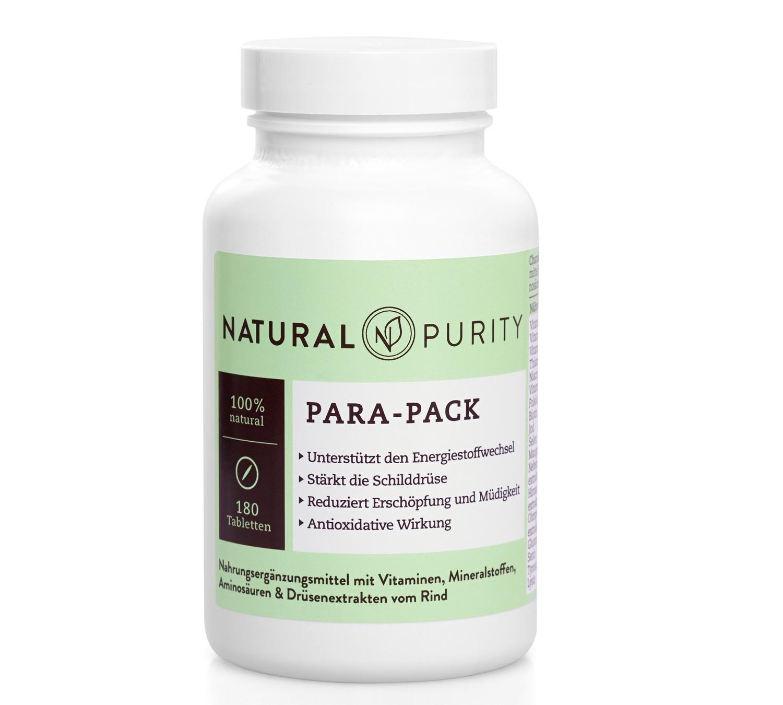 Para-Pack, Nahrungsergänzungsmittel