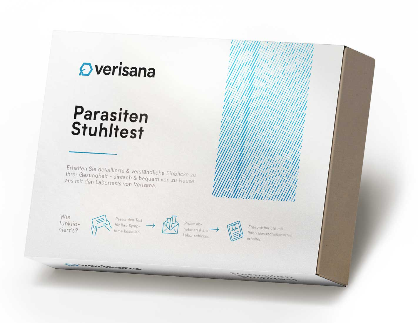 Parasitentest, Stuhlprobe auf fünf Parameter