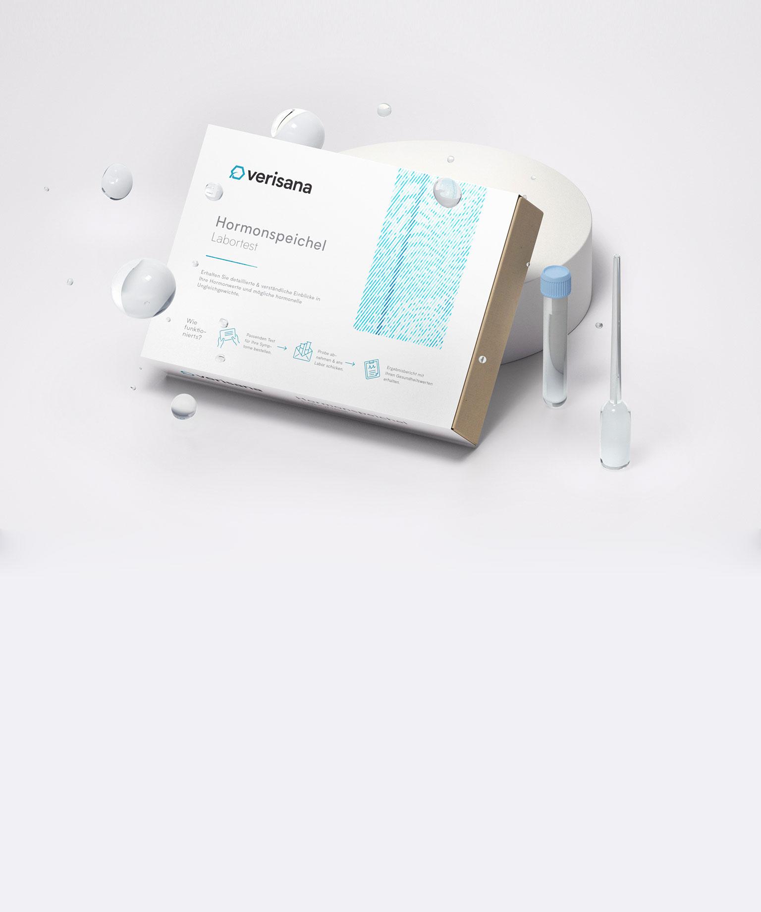 Verisana Labor für Naturheilkunde – Labortests als Kit für zu Hause – Tablet